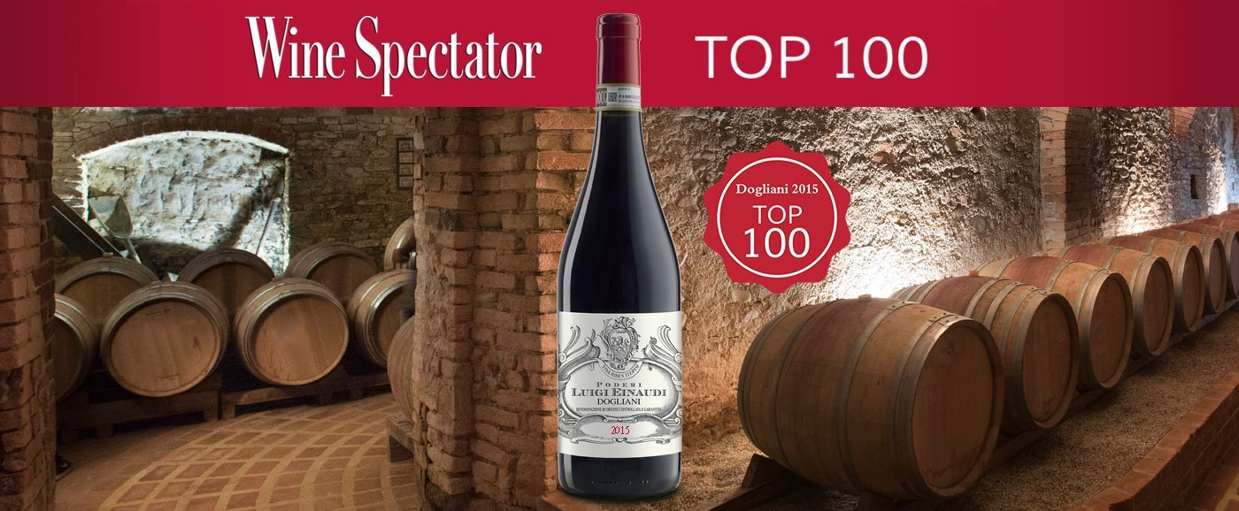 Dogliani 2015 Poderi Einaudi - Top 100 Wine Spectator