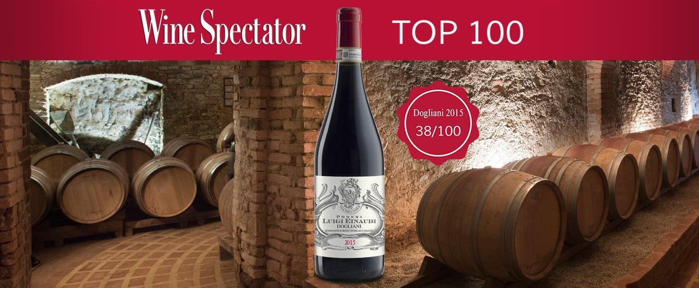 Dogliani Top 100 Wine Spectator - Poderi Luigi Einaudi